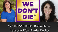 Anita Pacho On We Don't DIe Radio